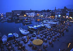 Kyrenia Harbour in Cyprus